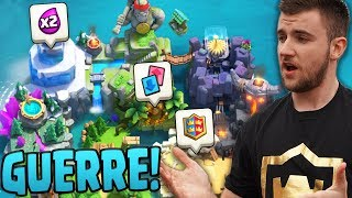 LA PRESSION POUR MA PREMIERE GUERRE DE CLAN !! (Ft. Eptic) // Clan Wars Clash Royale !