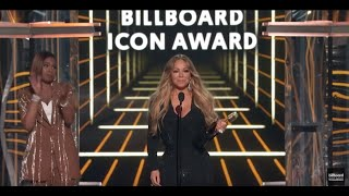 Mariah Carey Accepts the Billboard Icon Award - BBMAs 2019