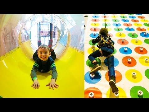 VLOG - PARCOURS AVENTURE & ESCALADE - Aire De Jeux Intérieure AZIUM Fun Indoor