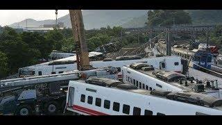 TAIWAN: Sicherheitskamera filmte Entgleisung von Puyuma-Express