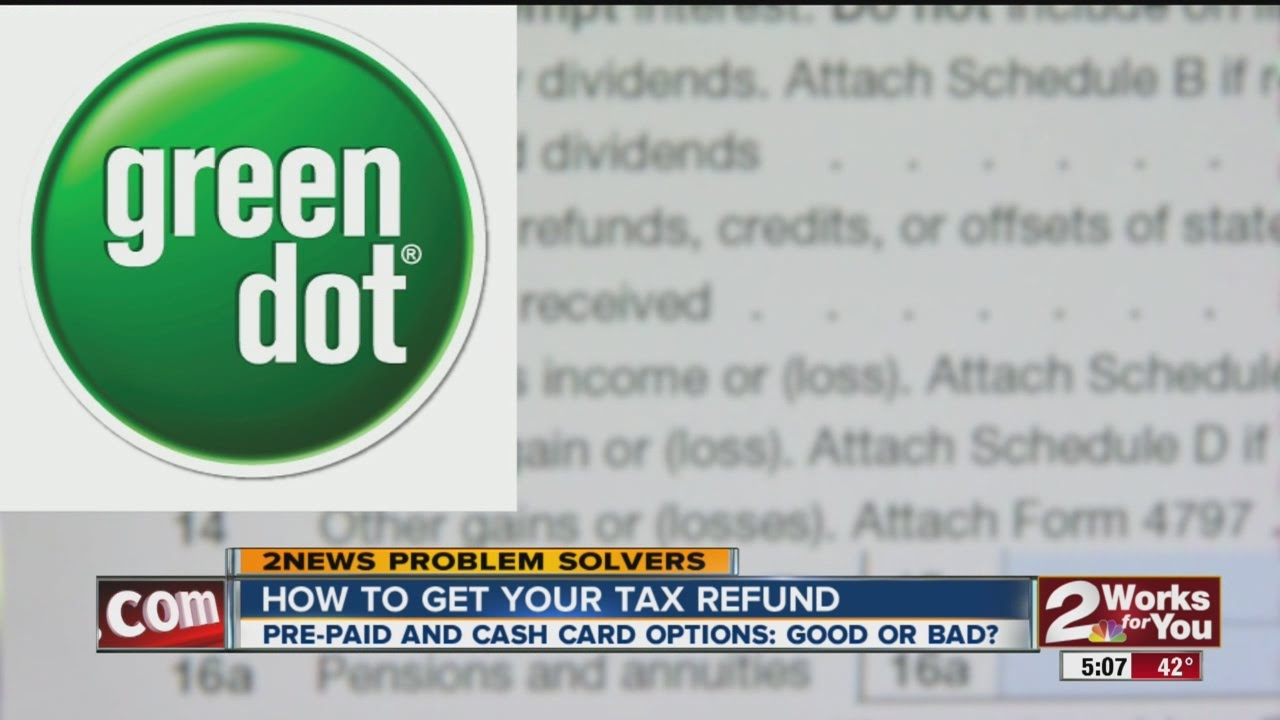 how to get your tax refund prepaid and cash card options - Prepaid Cash Card