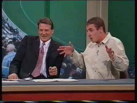 Andrew Startin on Footy Show (Sam lookalike)