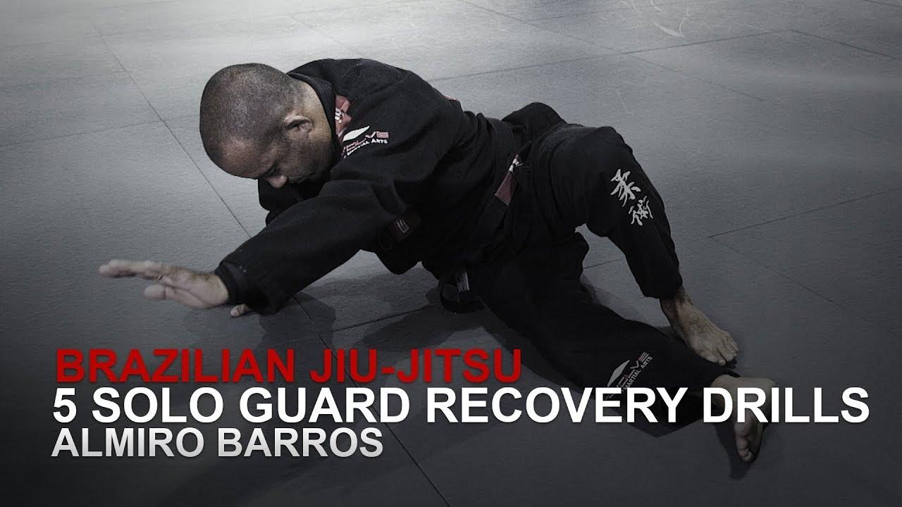 5 Solo Guard Recovery Drills   Almiro Barros   BJJ Wiki