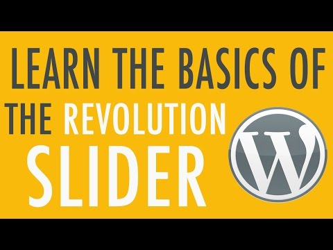 Basics of Slider Revolution Plugin in WordPress Part 1 of 3