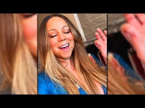 """Mariah Carey - Warming Up Voice/Rehearsing """"The Roof"""" (2019)"""