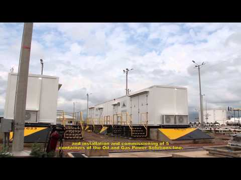 Soluciones para las industria Oil and Gas FTC Energy Group : Movable Power Solutions