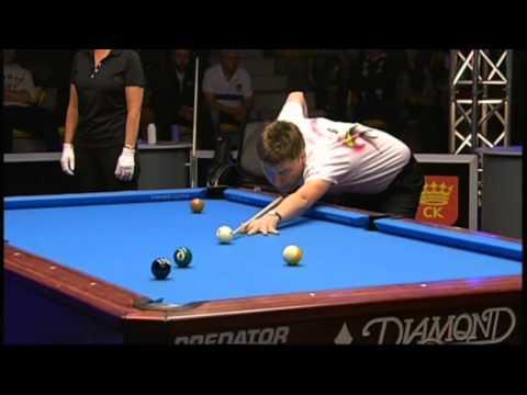 World Pool Masters - Kielce 2012 Skowerski vs Van Den Berg - Półfinał
