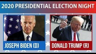 2020 Election Night | Joe Biden vs Donald Trump