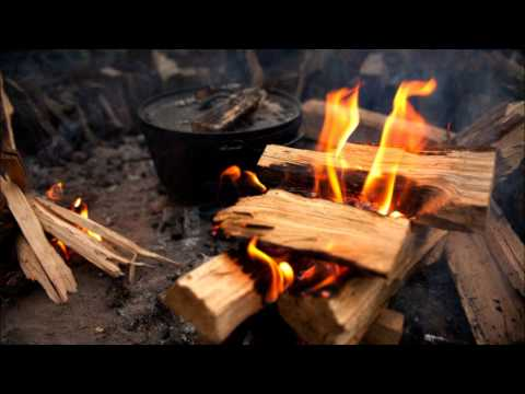 Relaxing Night Sounds: Sounds of Evening Outdoor Fire - Crackling, Sleep Aid, Stress Free