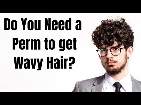 do-you-need-a-perm-to-get-wavy-hair?---thesalonguy