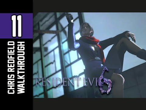 0 Resident Evil 6 Walkthrough   Part 11 Chinese Restaurant Shootout Lets Play XBOX PS3 PC (RE6)