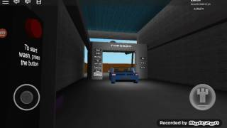 ROBLOX Autowäsche #42: KWS Tornado Bei Sparkle Car Wash 2.0 (Glitchy Car)