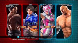 Tekken Tag Tournament 2 Commentary Live Xbox 360 Full HD