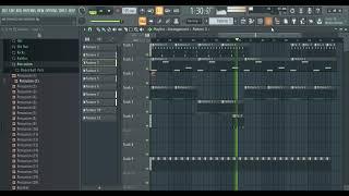 Danny Ocean - Me Rehusó - fl studio 95 % real (REMAKE FLP) Prod. Henryenelbeat