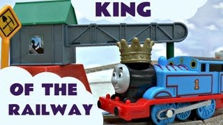 Thomas' Castle Quest King Of The Railway Kids Toy Train Set Trackmaster Thomas & Friends