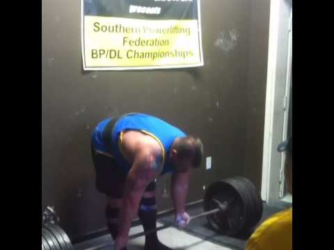 Light deadlift work - working my form with George Herring at Body By George in Loganville Georgia