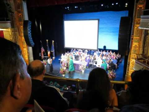 Apollo Theater Graduation: High School For Health Professions & Human Services/EDUCATION ROCKS