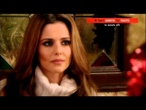 Cheryl Cole - Text Santa - Coronation Street - 20th December 2013