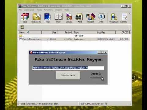 Pika Software Builder V4 9 Keygen Updated June 2013