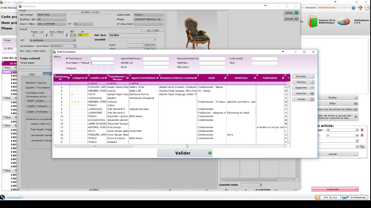 ad pro logiciel de gestion de projet darchitecture et de dcoration d interieur - Logiciel Decoration Interieur Professionnel