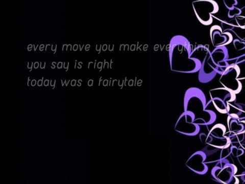 Taylor Swift - Today Was A Fairytale Lyrics [Lyrics in Description+Download Link]