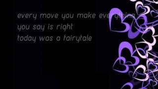 Taylor Swift - Today Was A Fairytale Lyrics [Lyrics in Description+Download Link]