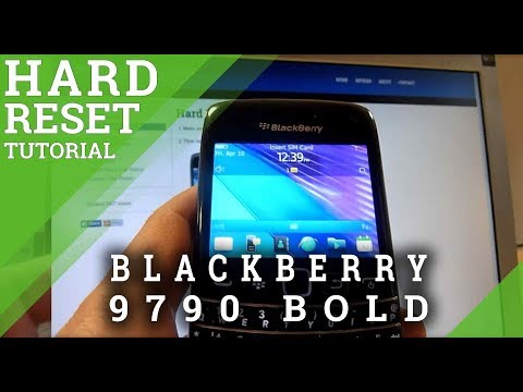 Hard Reset BLACKBERRY 9790 Bold - Master Clear Tutorial