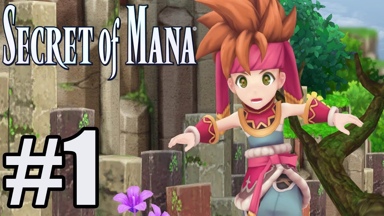 Secret of Mana Remake Gameplay Walkthrough Part 1 - PS4 No Commentary