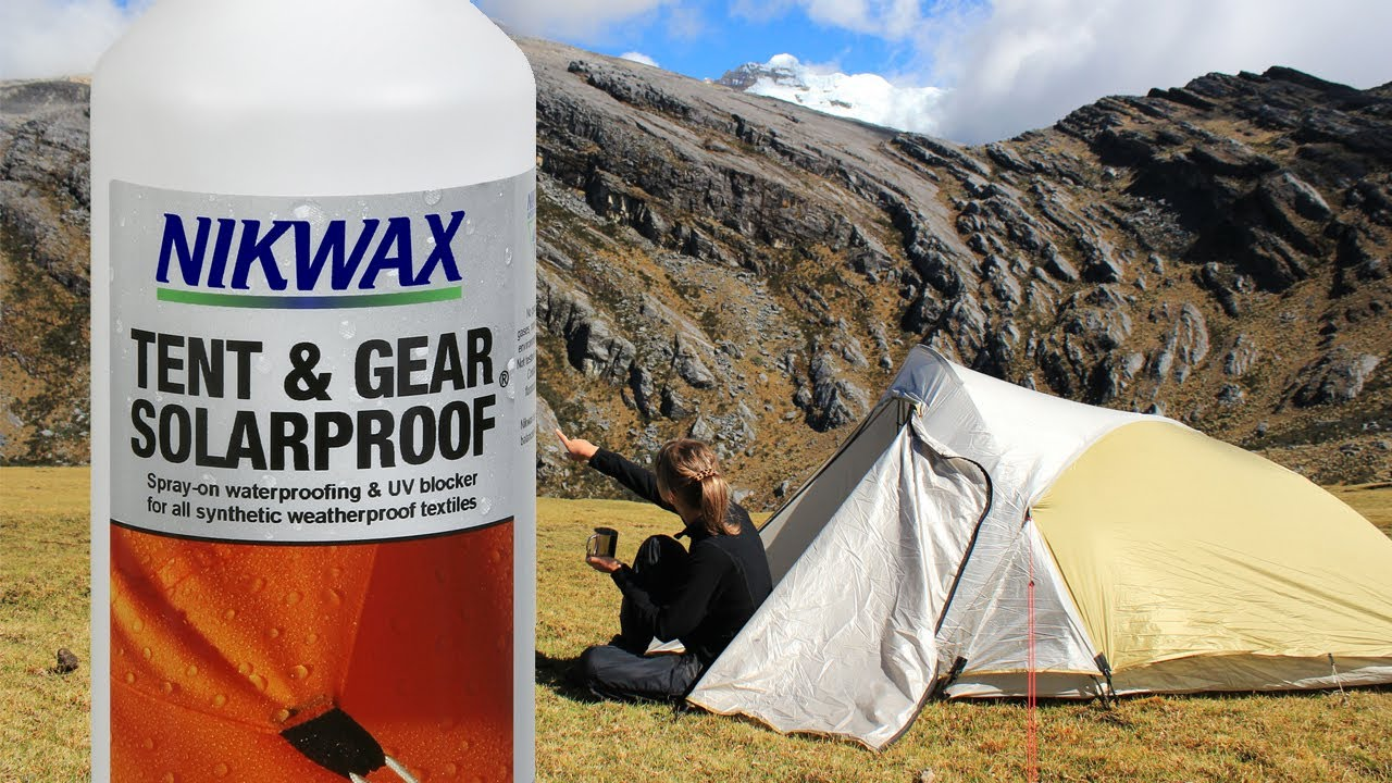 6290b0da1435 Nikwax Tent   Gear Solarproof Product Overview - YouTube