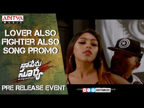 LOVER ALSO FIGHTER ALSO Song Promo @ Naa...