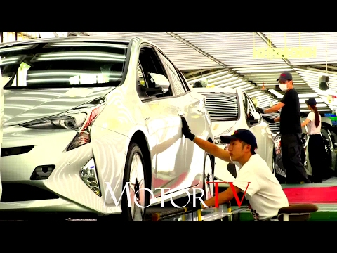 CAR FACTORY : NEW 2017 TOYOTA PRIUS PRODUCTION l TSUTSUMI PLANT (JPN)