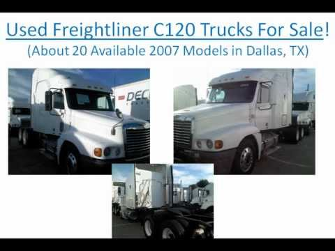 20 nice used freightliner trucks for sale dallas tx freightliner c120 trucks for sale youtube. Black Bedroom Furniture Sets. Home Design Ideas