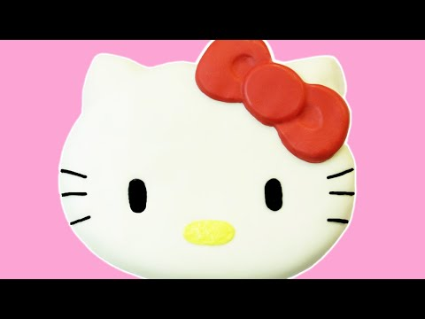 Make HOW TO MAKE HELLO KITTY CAKE - NERDY NUMMIES Pics