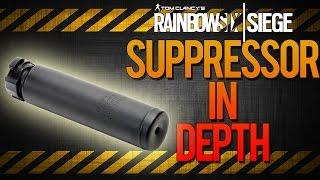 rainbow six siege suppressor attachment in depth