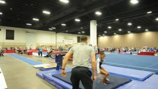 Jaymes Marshall - Vault 2 - 2016 Women's Junior Olympic Championships