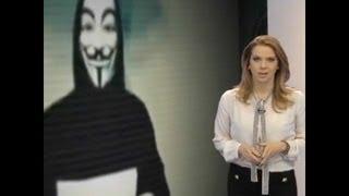 Anonymous na TV - Teledomingo