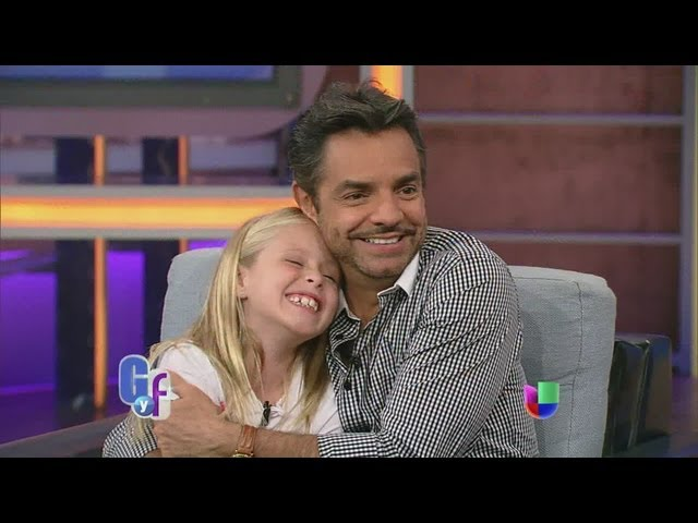Eugenio Derbez y Loreto Peralta orgullosos de 'Instructions not included' - El Gordo y La Flaca Videos De Viajes
