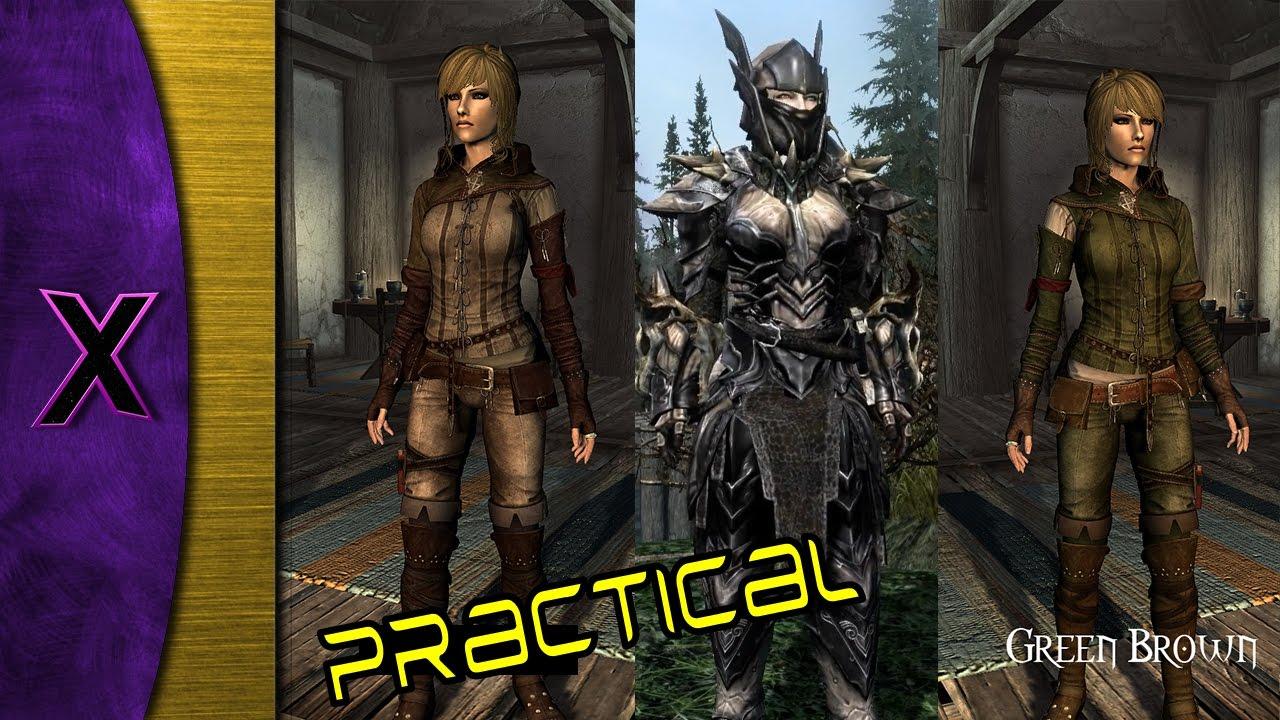 Skyrim Se Practical Female Armor