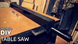 DIY table saw (part 2 - fence)