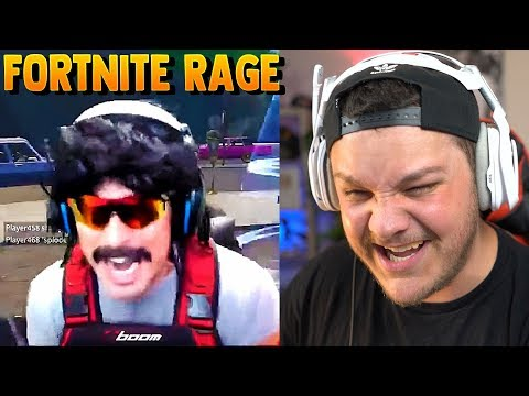 Hilarious Fortnite Rage  Reaction