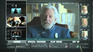 Hunger Games, The: Mockingjay Part 1 (2014) Blu-ray Menu Preview