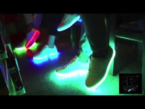 Светящиеся кроссовки Обзор LED Fashion купить в Украине