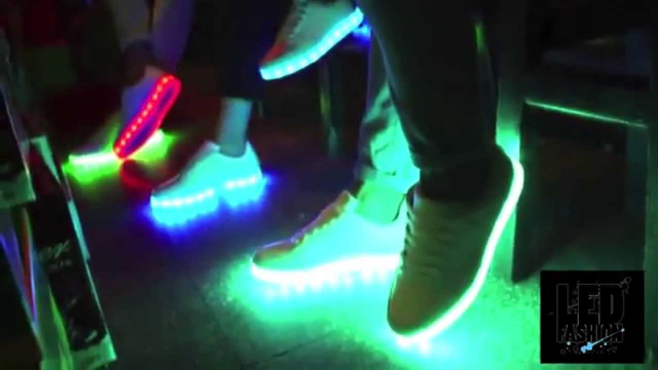 dd387050 Светящиеся кроссовки Обзор LED Fashion купить в Украине - YouTube