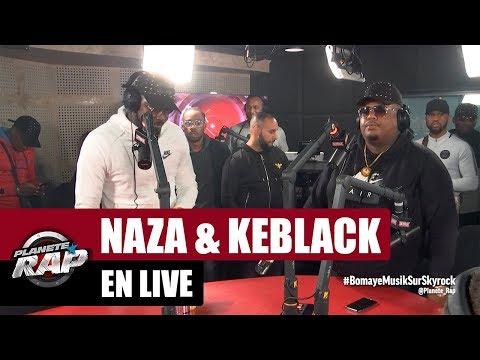 Naza & Keblack en live dans #PlanèteRap