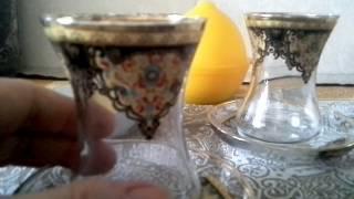 Чай  по - турецки.