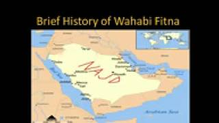 History of wahabi fitna by SHAIK UL ISLAM DR.TAHIR UL QADRI