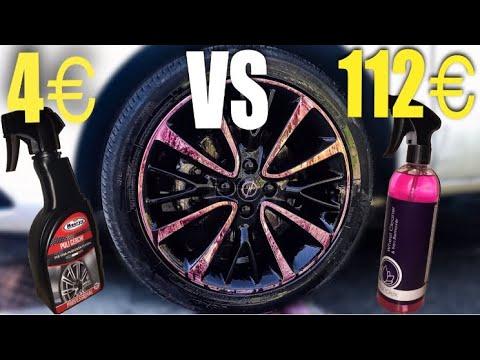 PULIZIA AUTO: Come pulire i cerchi in lega/ Pulitore da 4€ Vs 112