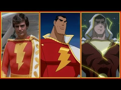 Download Shazam/Captain Marvel Evolution in Cartoons, Movies & TV (2018)