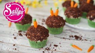 Maulwurf Cupcakes / Maulwurf Hügel