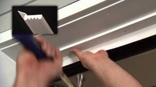 How to Install Vinyl Thermostop Garage Door Trim Video